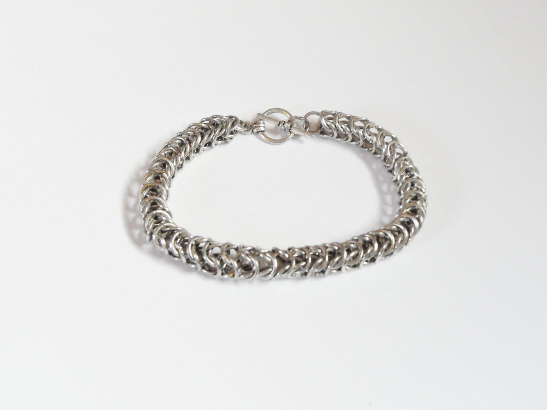 Box weave bracelet
