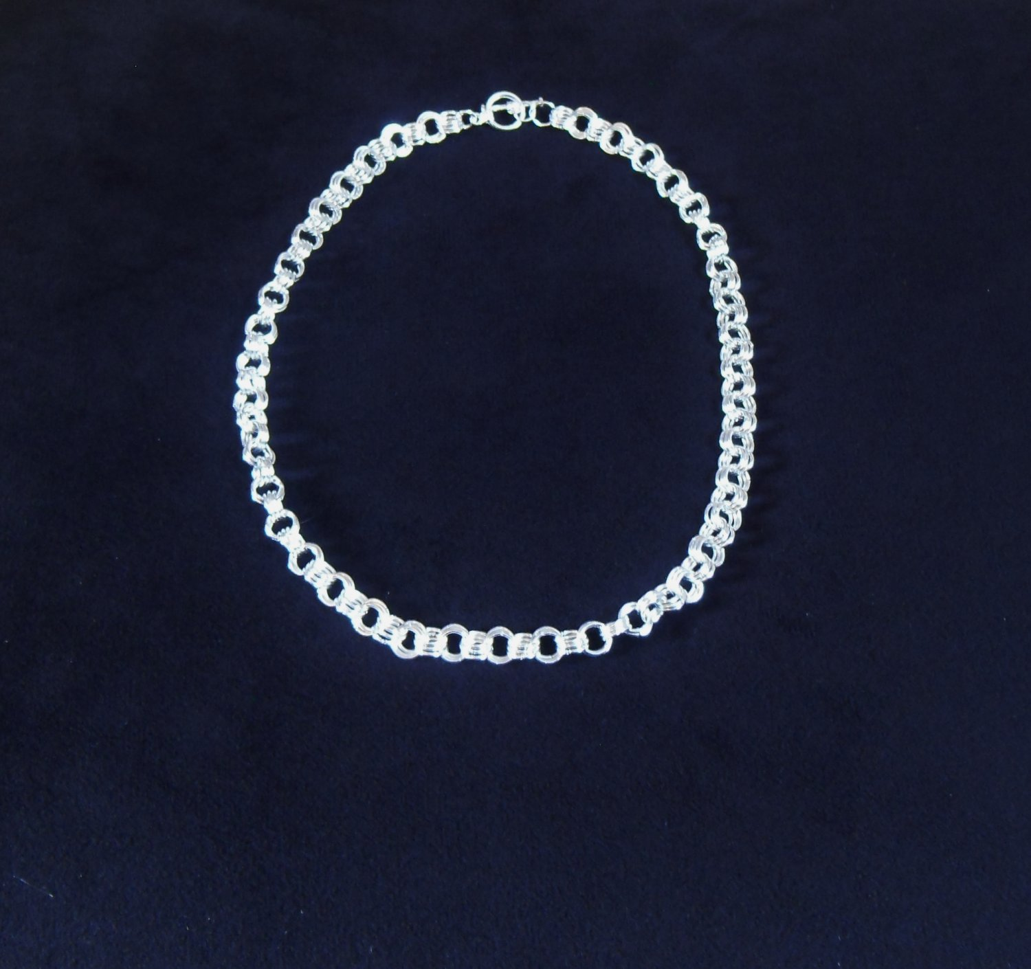 3x3 chainmaille necklace