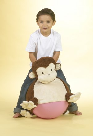 Mocha Monkey Bouncersize Buddy Ages 3-7