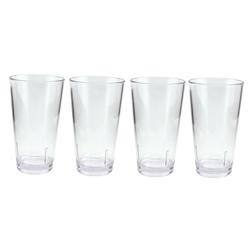 Seattle Majestics Pint Glasses with Logo - Set of 4