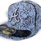 Atlanta Braves Brushed-Art Hat