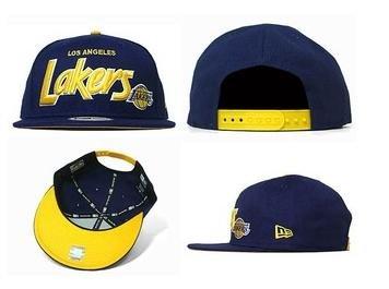 Los Angeles Lakers Snapback Hat