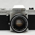 Topcon Uni 35mm SLR Camera / Topcon 50mm 1:2 Lens