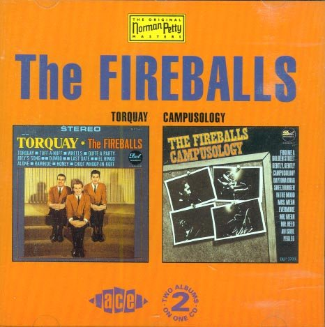 "The Fireballs-""Torquay"" / ""Campusology""-The Original Norm Petty Masters (Import)"