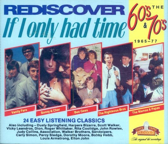 """V/A Rediscover The 60s & 70s-1965-77: """"If I Only Had Time"""" (Import) (2 CDs)"""