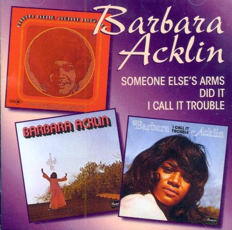 Barbara Acklin-Someone Else's Arms/I Did It/I Call It Trouble (Import)
