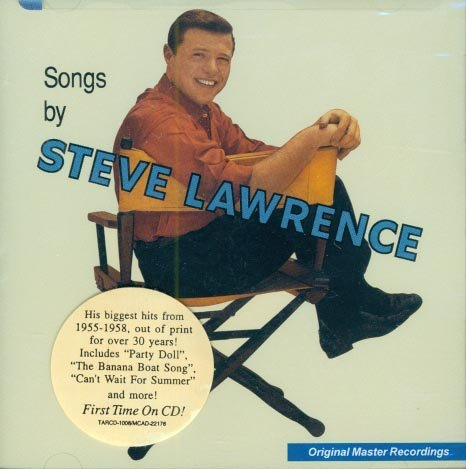 Steve Lawrence-Songs By-Original Master Recordings