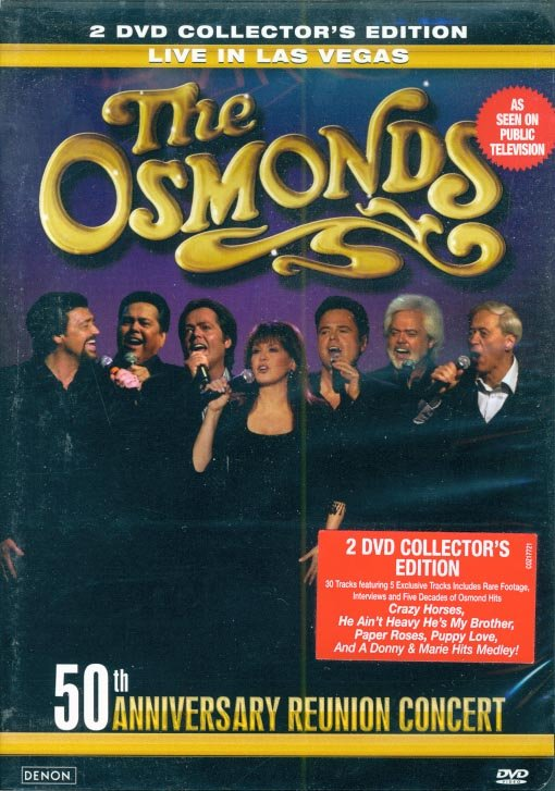 The Osmonds-50th Anniversary Reunion Concert-Live In Las Vegas