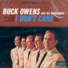 Buck Owens & His Buckaroos-I Don't Care