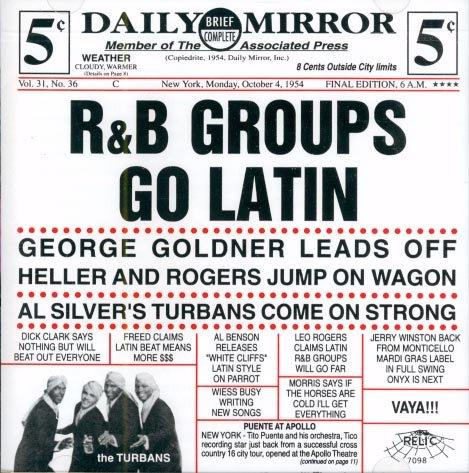 V/A R&B Groups Go Latin