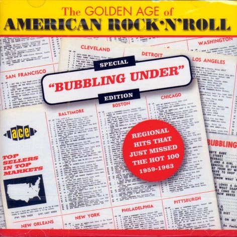 V/A The Golden Age Of American Rock 'N' Roll-Bubbling Under