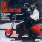 Bill Henderson-His Complete Vee-Jay Recordings, Volume 2