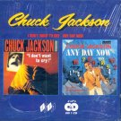 Chuck Jackson-2 LP's On 1 CD-I Don't Want To Cry/Any Day Now (Import)