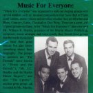 V/A Music For Everyone (A unique Doo Wop & Soul Compilation) (Import)