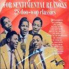 V/A For Sentimental Reasons-28 Doo Wop Rarities (Import)