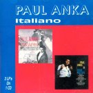 "Paul Anka-Italiano-2 LPs On 1 CD-""Italiano""/""Casa Nostra"" (Import)"