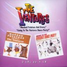 "The Ventures-2 LP's On 1 CD:  ""Mashed Potatoes And Gravy""/""Going To The Ventures Dance Party"""