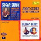 "Jimmy Gilmer & The Fireballs-2 Albums On 1 CD:  ""Sugar Shack"" / ""Buddy's Buddy"" (Import)"