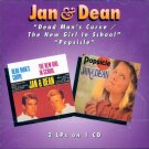 "Jan & Dean-2 LPs On 1 CD:  ""Dead Man's Curve"" / ""The New Girl In School""/""Popsicle"""