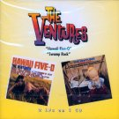 "The Ventures-2 LP's On 1 CD:  ""Hawaii Five-O"" / ""Swamp Rock"""