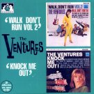 "The Ventures-2 Albums On 1 CD:  ""Walk Don't Run, Vol. 2""/""Knock Me Out"" (Import)"