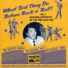 V/A What Did They Do Before Rock 'n' Roll, Vol. 1:  Amazing Artifacts Of The Pre-Elvis Era (Import)