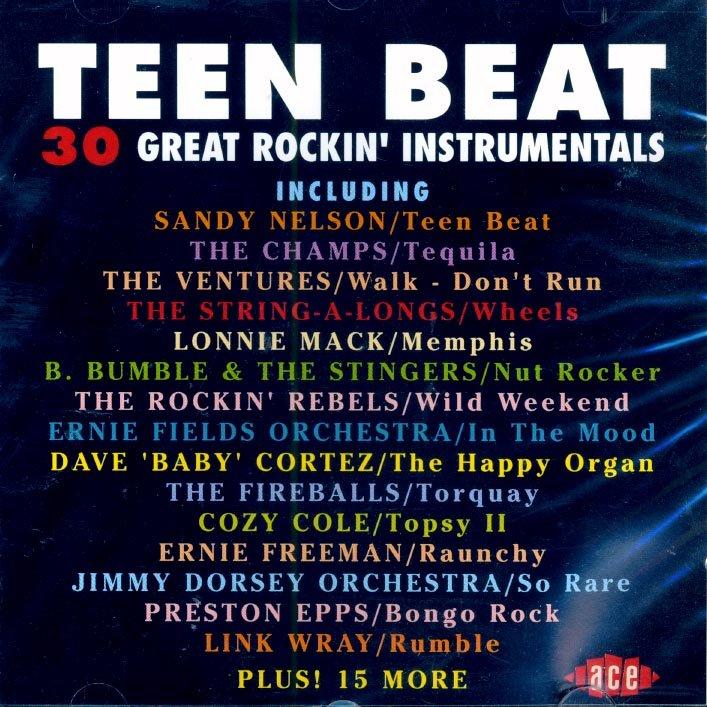 Sandy Nelson Preston Epps Teen Beat Bongo Rock