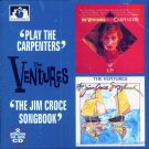 "The Ventures-2 Albums On 1 CD:  ""Play The Carpenters"" / ""The Jim Croce Songbook"" (Import)"