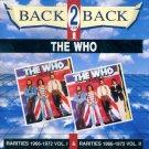 "The Who-Back 2 Back:  ""Rarities 1966-1972, Vol. I & Rarities 1966-1972, Vol. II"" (Import)"