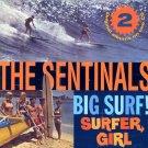 """The Sentinals-2 LP's On 1 CD:  """"Big Surf"""" / """"Surfer Girl"""" (Import)"""