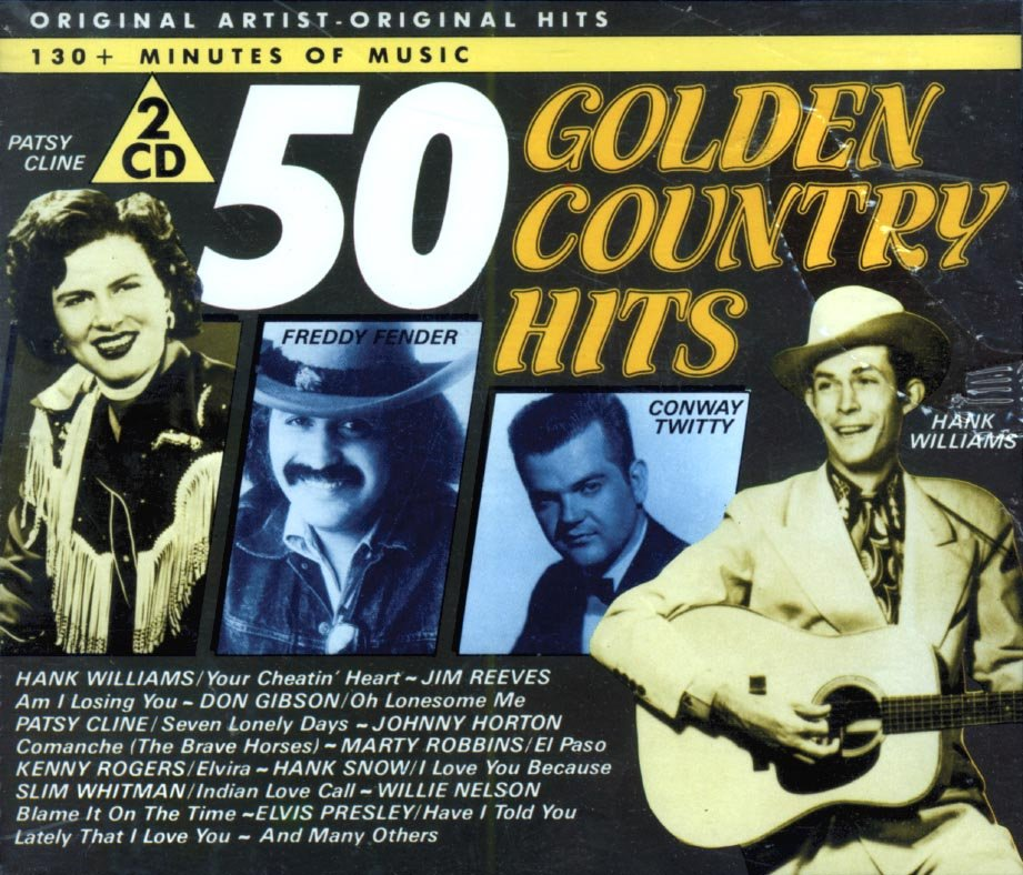 V/A 50 Country Golden Hits (2 CD Box Set) (Import