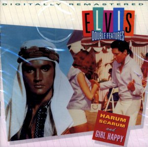 "Elvis Presley-Double Features ""Harum Scarum"" & ""Girl Happy"""