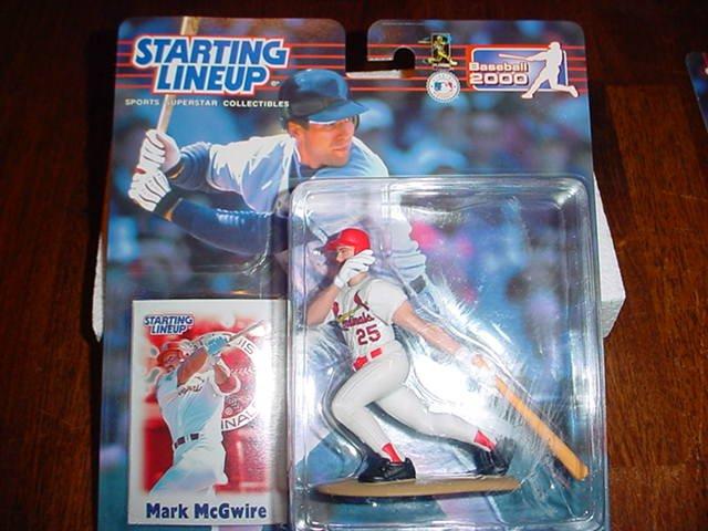 2000 Mark McGuire Figure w/Card