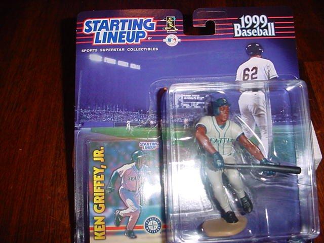 1999 Ken Griffey Jr Figure W/Card