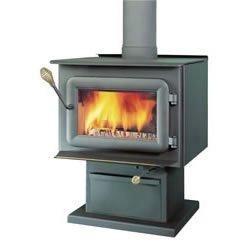XTD Pedestal Steel Woodburning Stove 1.9