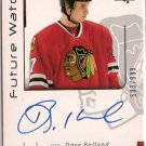 Dave Bolland 2006-07 SP Authentic Future Watch #171 503/999 AUTO SN RC