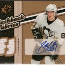 Sidney Crosby 2006-07 SPx Flashback Fabrics #134 AUTO JSY
