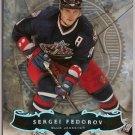 Sergei Fedorov 2006-07 Artifacts Platinum #73 1/10 SN