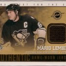 Mario Lemieux 2002-03 Pacific Quest for the Cup Jerseys #17 JSY