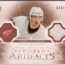 Henrik Zetterberg 2005-06 Artifacts Frozen Artifacts Copper #FAHZ 64/125 JSY SN