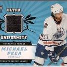Michael Peca 2006-07 Ultra Ultra Uniformity #UPE JSY Oilers
