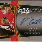 Duncan Keith 2006-07 Hot Prospects Hotagraphs #HDK AUTO