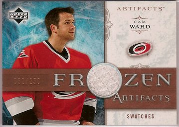 Cam Ward 2006-07 Artifacts Frozen Artifacts #FACW 32/250 JSY SN