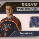 Braydon Coburn 2005-06 Upper Deck Rookie Threads #RTBC JSY