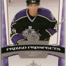 Peter Harrold 2006-07 Hot Prospects Prized Prospects #162 877/1999 SN RC