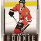 Colin Fraser 2007-08 Upper Deck Victory #213 RC