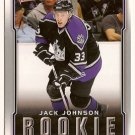 Jack Johnson 2007-08 Upper Deck Victory #201 RC