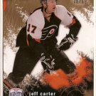 Jeff Carter 2007-08 Be A Player Player's Club #146 78/99 SN