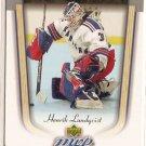 Henrik Lundqvist 2005-06 Upper Deck MVP #418 RC