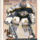 Mike Dunham 1999-00 Paramount Holographic Gold #123 153/199 SN